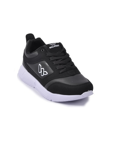 Walkway Prt-021 Beyaz-Gümüş Kadın Ayakkabı Siyah